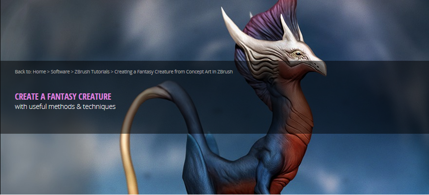 Arun: ZBrush experience ( modeling creature ) – endzi-z