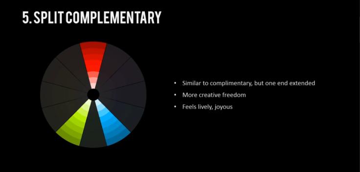 Split Complementary