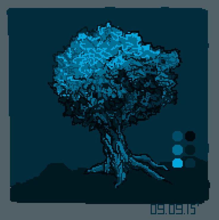 1st pixel art